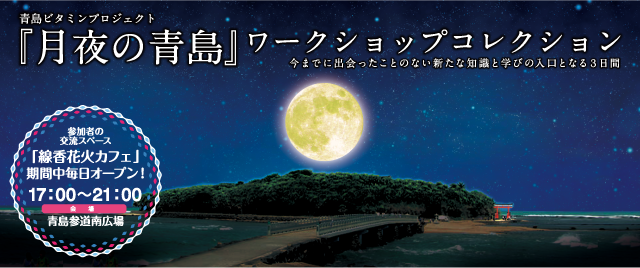 月夜の青島