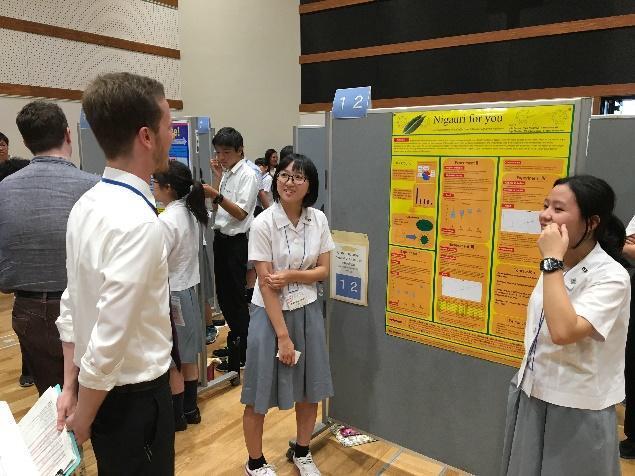 宮崎大宮高校生徒によるポスターセッションを宮崎大学で開催|宮崎大学